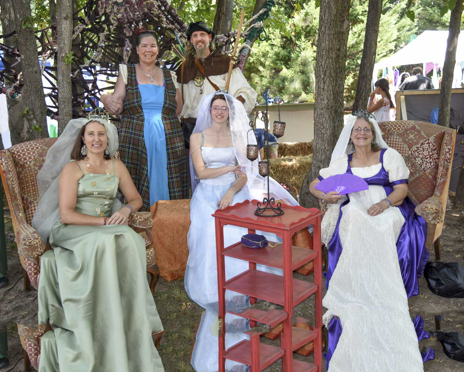 "The Renaissance Faire ""Royal Court"""