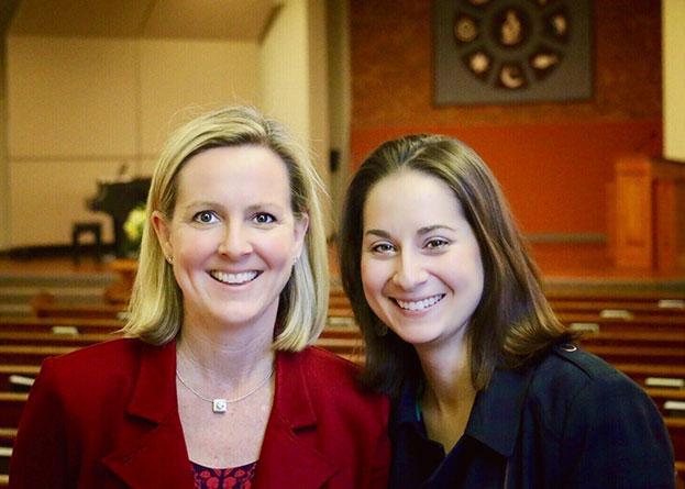 Sally Sarratt & Maria Swearingen